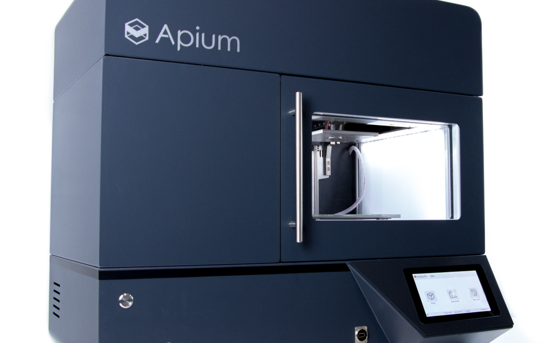 The next step for industrial 3D printing: The New Apium P220