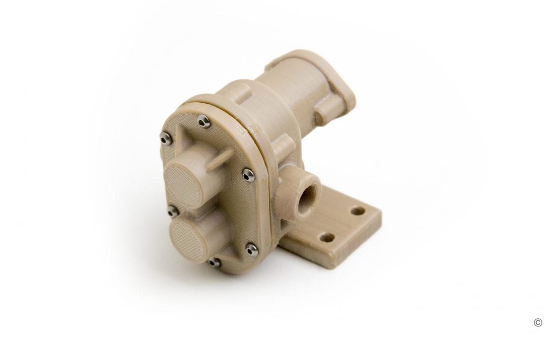 """Verbesserte Druckqualität für Hochleistungspolymere: """"Adaptive Heating System Technology"""""""