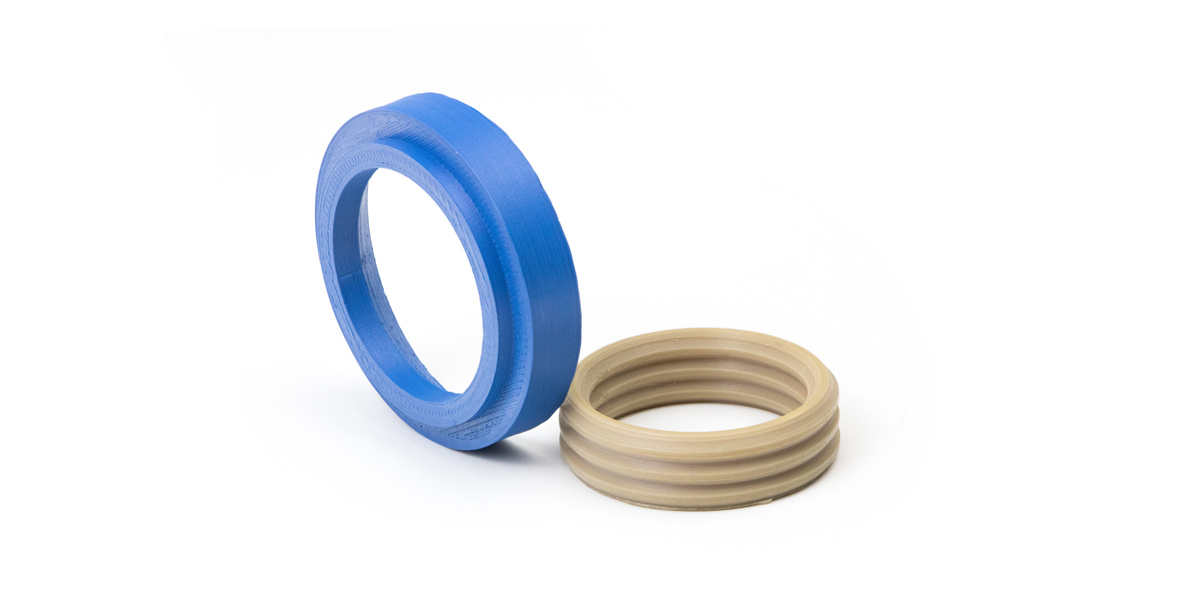 3D printed PEEK seal rings for high temperature application in Oil & Gas