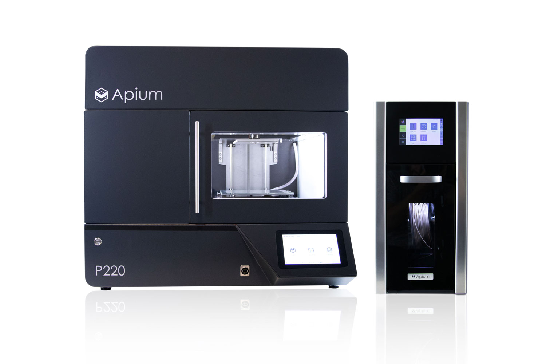 PEEK 3D-Druck - Apium P220 - Industrieller 3D-Druck (FFF)