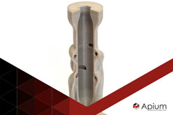 Case Study: Chemical Resistance of 3D printed Apium PEEK parts