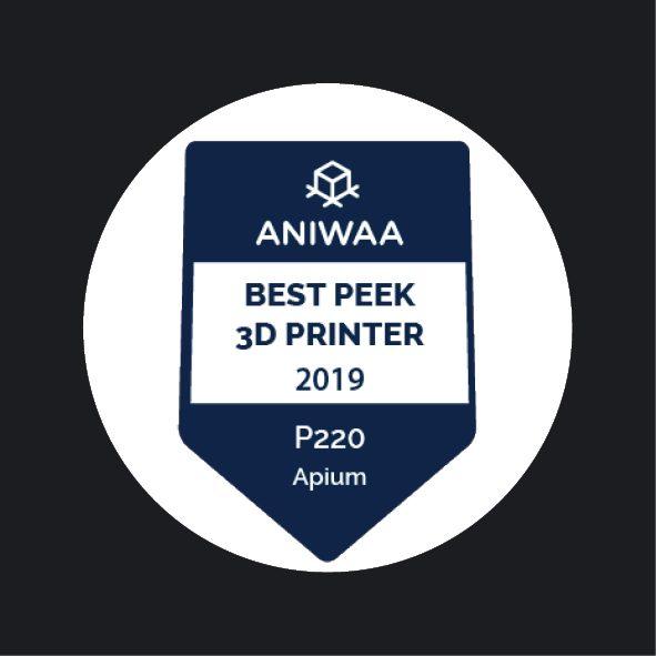 Aniwaa- Apium P220 - Best PEEK Printers 2019