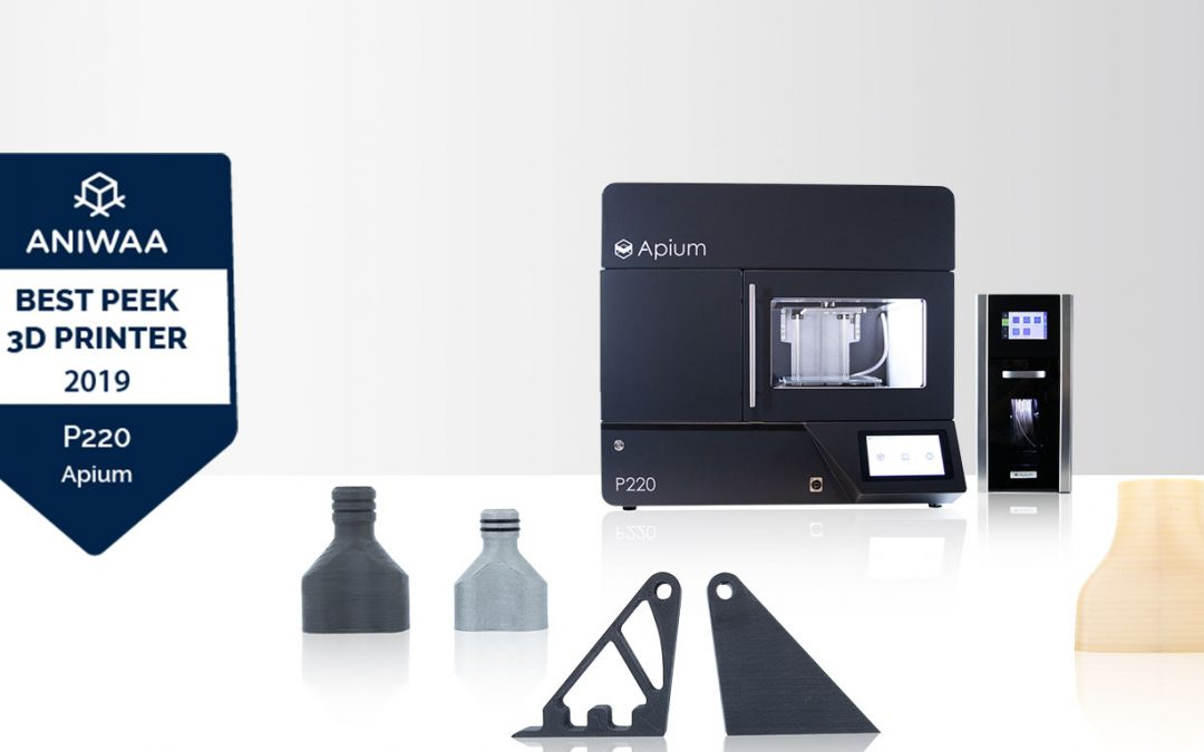 Apium P220 is amongst the top best professional 3D printers (PEEK and Ultem™)