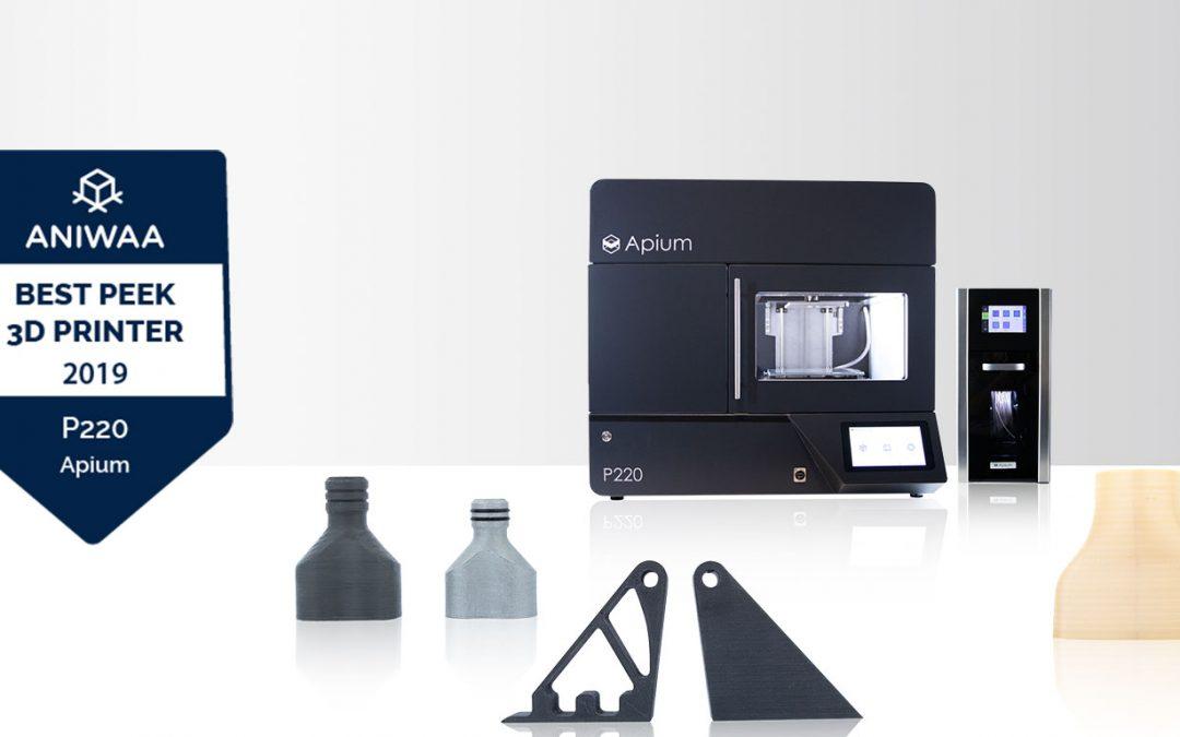 Apium P220 unter den besten professionellen 3D-Druckern (PEEK und Ultem™)